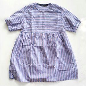 Zara Striped Shirt Dress